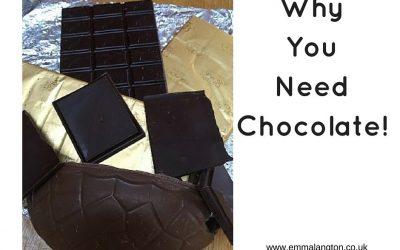 Why You Need Chocolate