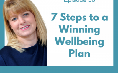 Lessons for Leaders 38: 7 Steps to a Winning Wellbeing Plan