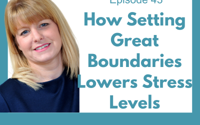 Lessons for Leaders 43: How Setting Great Boundaries Lowers Stress