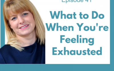 Lessons for Leaders 41: What To Do When You're Feeling Exhausted