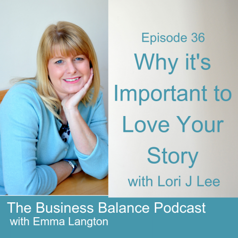 BBP36 Why It's Important to Love Your Story with Lori J Lee