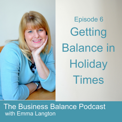 BBP7 Getting Balance in Holiday Times